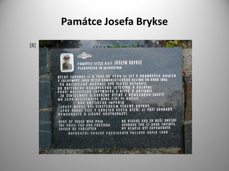 Památce Josefa Brykse [8]